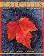 Calculus: Single and Multivariable, 6th Edition