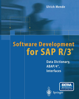 Software Development for SAP R 3   PDF