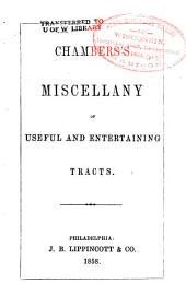 Chambers's miscellany of useful and entertaining tracts: Volume 2