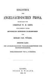 Die angelsächsischen Prosabearbeitungen der Benedictinerregel