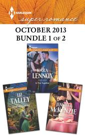 Harlequin Superromance October 2013 - Bundle 1 of 2: An Anthology
