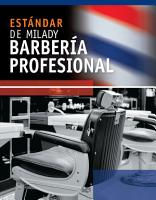 Spanish Translated Milady s Standard Professional Barbering PDF
