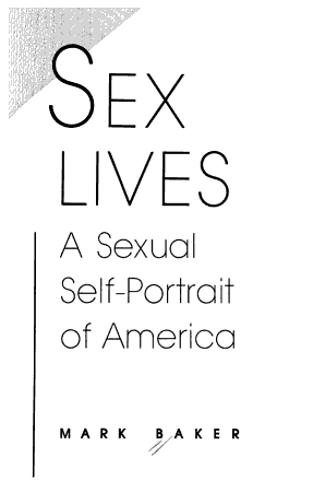 Sex Lives PDF