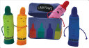 The Day the Crayons Quit Finger Puppet Playset