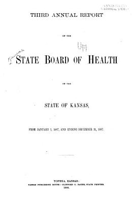 Annual Report of the State Board of Health of the State of Kansas PDF