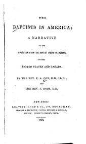 The Baptists in America: a narrative of the deputation from the Baptist Union in England to the United States and Canada