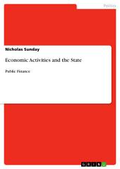 Economic Activities and the State: Public Finance