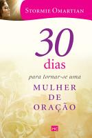 30 dias para tornar se uma mulher de ora    o PDF