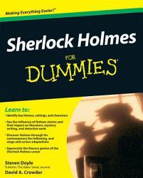 Sherlock Holmes For Dummies Book PDF
