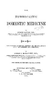 The Homoeopathic Domestic Medicine...