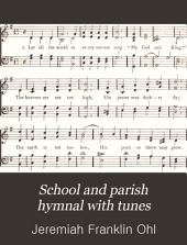 School and Parish Hymnal with Tunes
