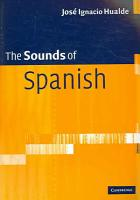 The Sounds of Spanish with Audio CD PDF