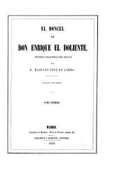 El doncel de Don Enrique el Doliente: historia caballeresca del siglo XV, Volúmenes 1-2