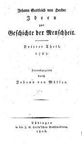 Sämmtliche Werke: Zur Philosophie und Geschichte ; 5, Ideen zur Geschichte der Menschheit ; Theil 3, Band 2