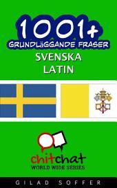 1001+ grundläggande fraser svenska - latin