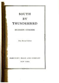 South by Thunderbird