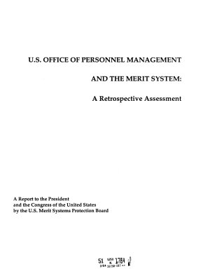 Report Concerning Significant Actions of the Office of Personnel Management PDF