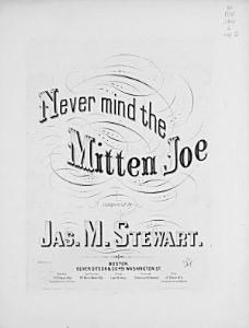 Never Mind the Mitten Joe