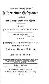 Vier und zwanzig Bücher allgemeiner Geschichten besonders der europäischen Menschheit: Band 2