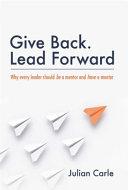 Give Back Lead Forward