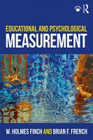 Educational and Psychological Measurement PDF