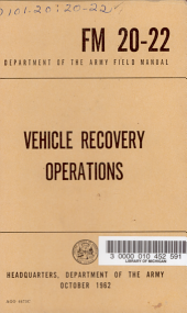 Vehicle Recovery Operations