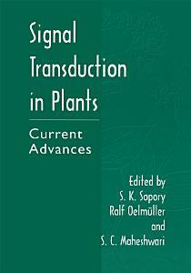 Signal Transduction in Plants PDF