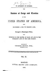 United States Statutes at Large: Containing the Laws and Concurrent Resolutions ... and Reorganization Plan, Amendment to the Constitution, and Proclamations, Volume 9