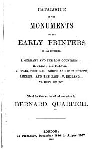A General Catalogue of Books Offered to the Public at the Affixed Prices by Bernard Quaritch     PDF