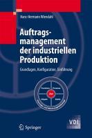 Auftragsmanagement der industriellen Produktion PDF