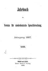 Jahrbuch des Vereins f  r Niederdeutsche Sprachforschung PDF
