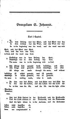 The Gospel of St  John  in German  adapted to the Hamiltonian system  by an analytical and interlineary translation  By George Hamilton PDF