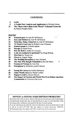 Italian Americana PDF