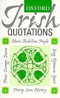 Oxford Irish Quotations PDF