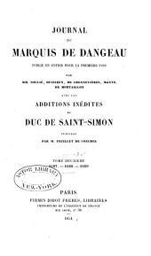 Journal du marquis de Dageneau: 1687-1689
