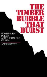 The Timber Bubble that Burst Book