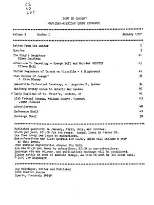 Lost in Canada  PDF