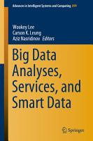 Big Data Analyses  Services  and Smart Data PDF