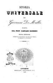 Storia universale di Giovanni De Müller