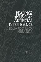 Readings in Music and Artificial Intelligence PDF
