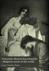 University Musical Encyclopedia: Religious music of the world