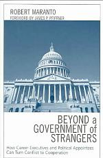 Beyond a Government of Strangers