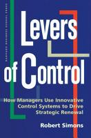 Levers of Control PDF