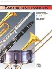 Yamaha Band Ensembles, Book 1 for Alto Saxophone or Baritone Saxophone