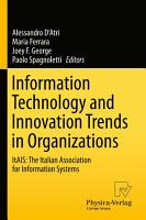 Information Technology and Innovation Trends in Organizations PDF