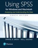 Using SPSS for Windows and Macintosh, Books a la Carte