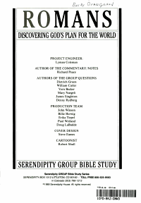 Romans Discovering God s Plan for the World PDF