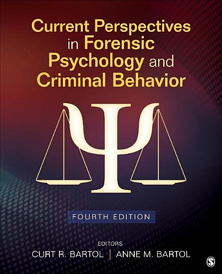 Current Perspectives in Forensic Psychology and Criminal Behavior PDF