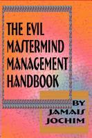 The Evil Mastermind Management Book PDF