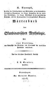 Wörterbuch der Skandinavischen Mythologie